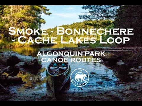 Smoke Lake - Bonnechere Lake - Cache Lake Loop: Algonquin Park Canoe Routes