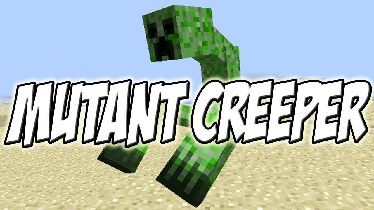 Dibujos Para De Minecraft Impri On Dibujos Para De: Como Instalar Mutant Creeper MOD