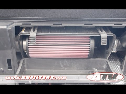 ATV Television Product Review - K&N Filter on 2015 Polaris RZR 900