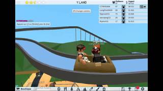 presentation of a crazy roller coaster park !!!!!!! Roblox