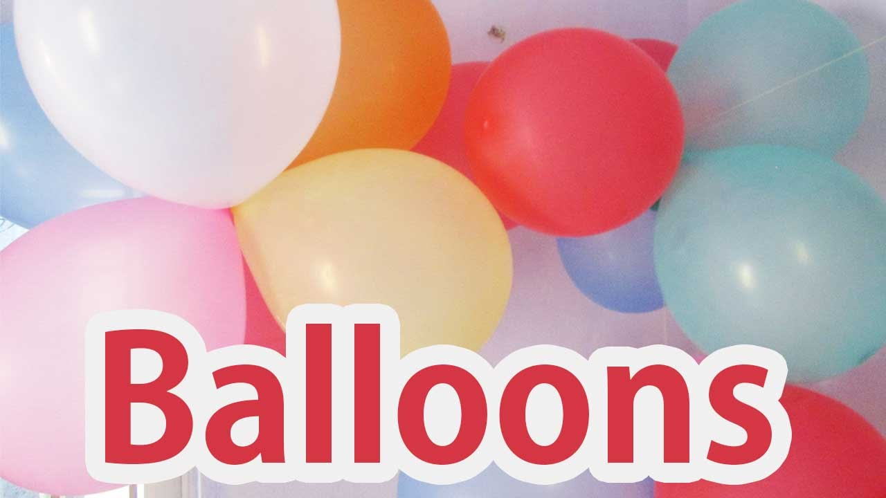 Kids Birthday Party Ideas 2017 Amazing Things You Can Do With Balloons For