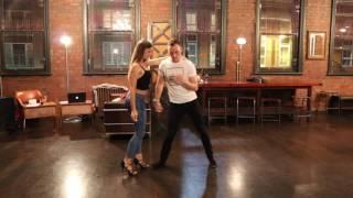 James & Stephanie Kizomba Improv - Beijam Demo