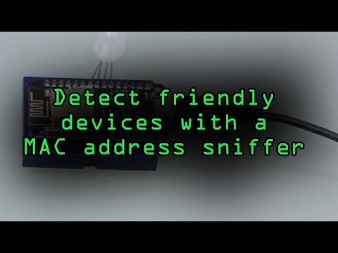 Detect Your Friend's Devices with a NodeMCU MAC Address Sniffer [Tutorial]