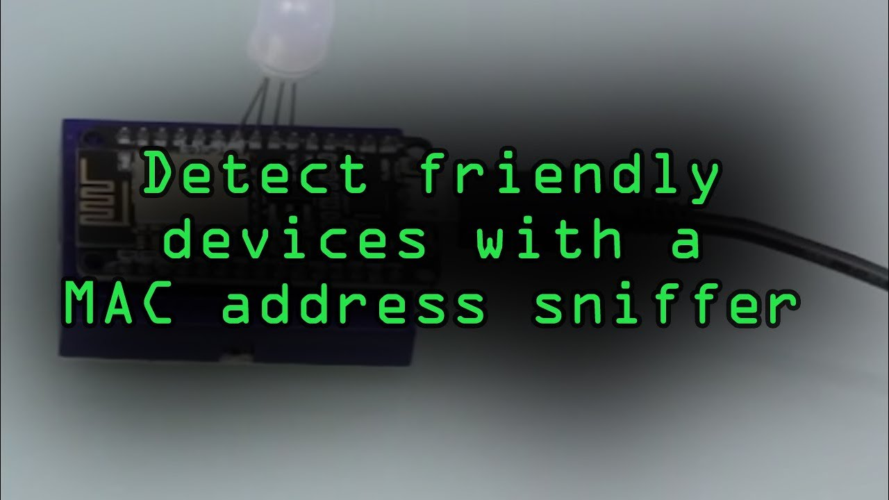 How to Detect When a Device Is Nearby with the ESP8266