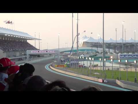 F1 2010 Abu Dhabi Grand Prix (Live) - 1st Lap HD
