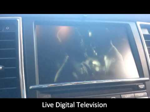 Porsche Panamera 4 with Live Digital TV