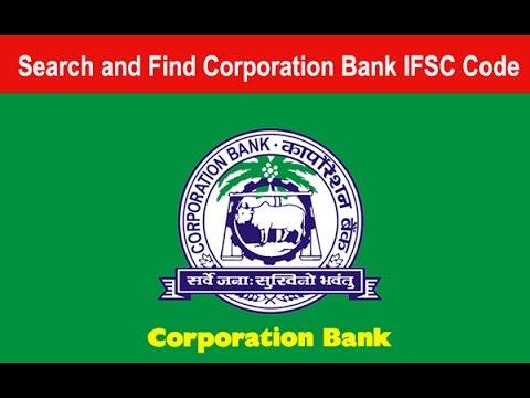 Corporation Bank Ifsc Code