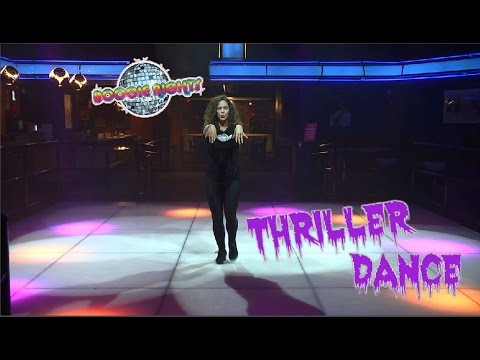 Boogie Nights Teaches The Thriller Dance!   Instructional Video