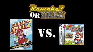 ROR: Super Mario Bros. 2 Vs. Super Mario Advance