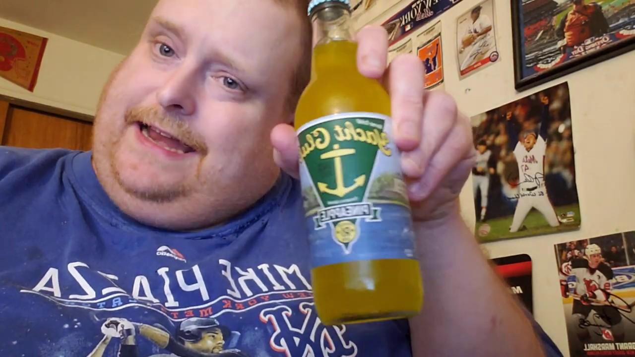 Tank's Taste Test Yacht Club Pineapple Soda