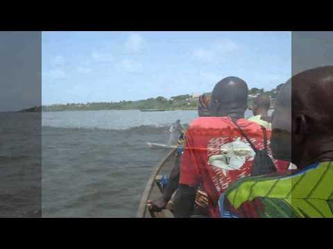 Traversée du Lac Togo....! quel Stress...!