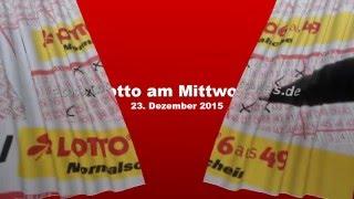 Lotto Mittwoch 23.12.2015: Heute acht Millionen Euro in zwei Jackpots