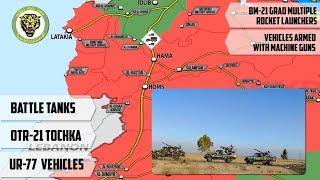 13 августа 2018. Военная обстановка в Сирии. Подготовка сирийской армии к наступлению в Хаме.
