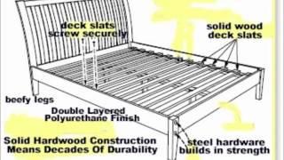 Platform Beds (solid Hardwood) - Futon Covers Online