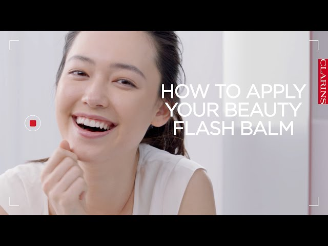 clarins beauty flash balm before and after
