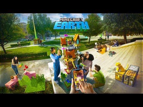 Minecraft EARTH: Das NEUE Minecraft HANDY Spiel! (Minecraft News)