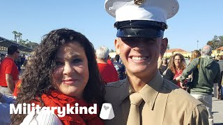 Marine crashes bridal shower and makes bride cry | Militarykind