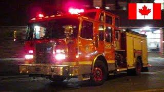 Montréal | *DETROIT POWER* Montréal Fire Service (SIM) Spare Pumper 295 Responding