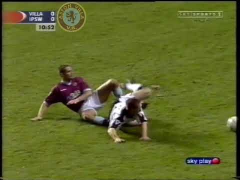 Villa 2 Ipswich 1 - Barclaycard Premiership - 17th Dec 2001