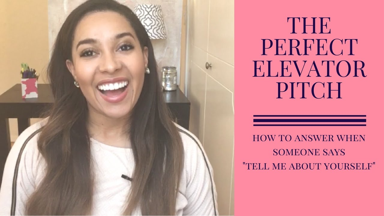 Pefect Elevator Pitch: Career Coaching | How to Answer