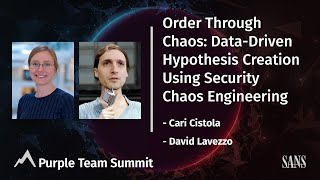 Order Through Chaos: Data-Driven Hypothesis Creation Using Security Chaos Engineering