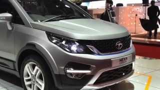 Tata Hexa Concept SUV @ 2015 Geneva Motor Show | RushLane