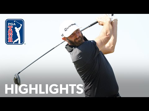 Dustin Johnson shoots 4-under 66 | Round 2 | Vivint Houston Open 2020