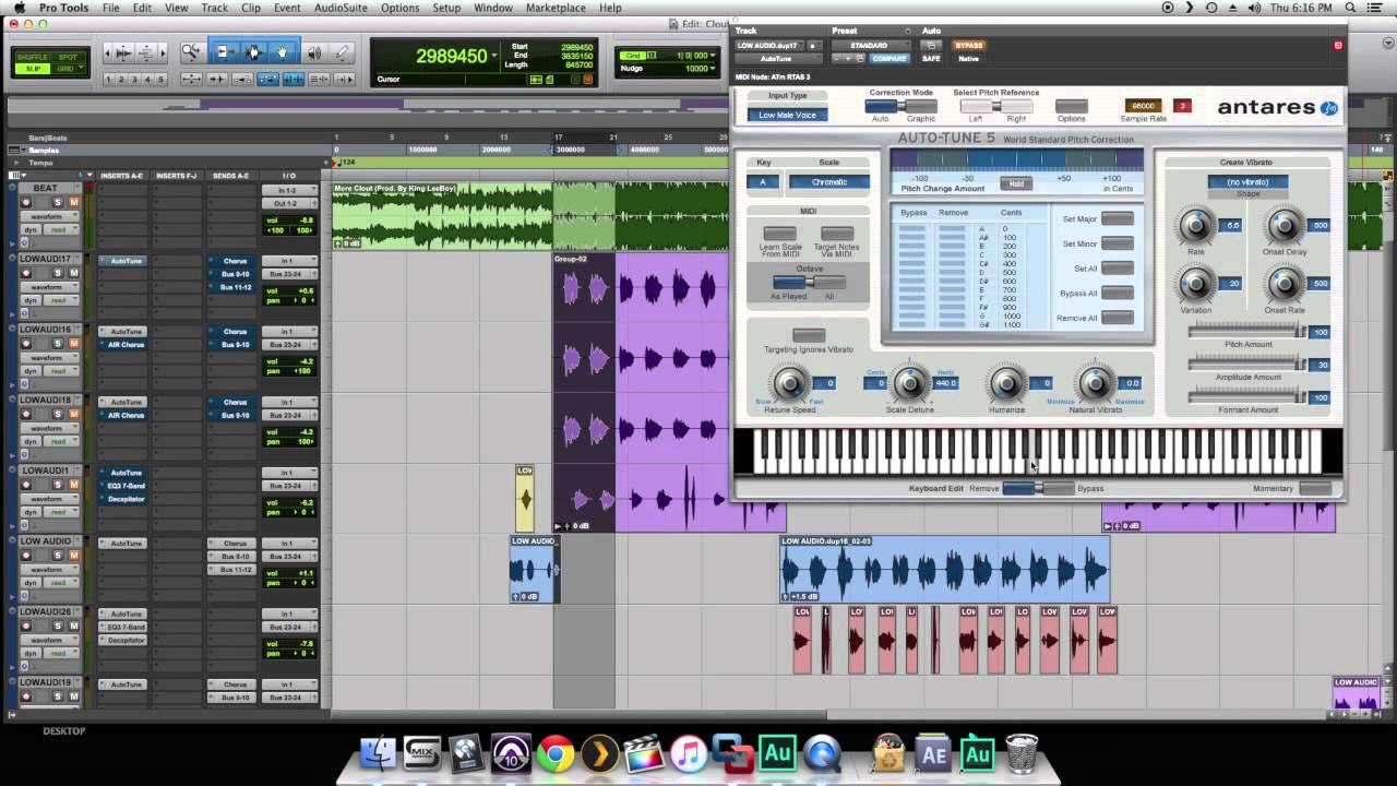 mixing tutorial auto tuned vocals part 1 settings rich homie