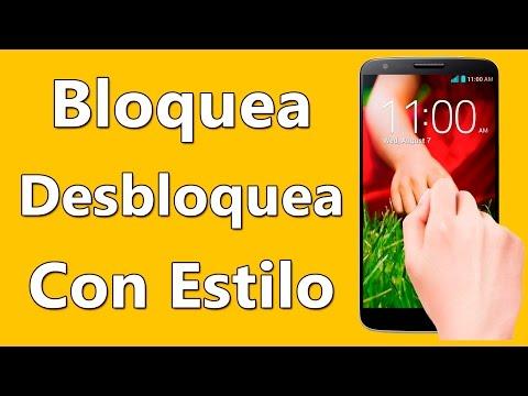 Bloquea y Desbloquea Con DOS TOQUES Tu Movil Android