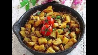 Картошка с фаршем по-турецки.Простой и быстрый рецепт на ужин