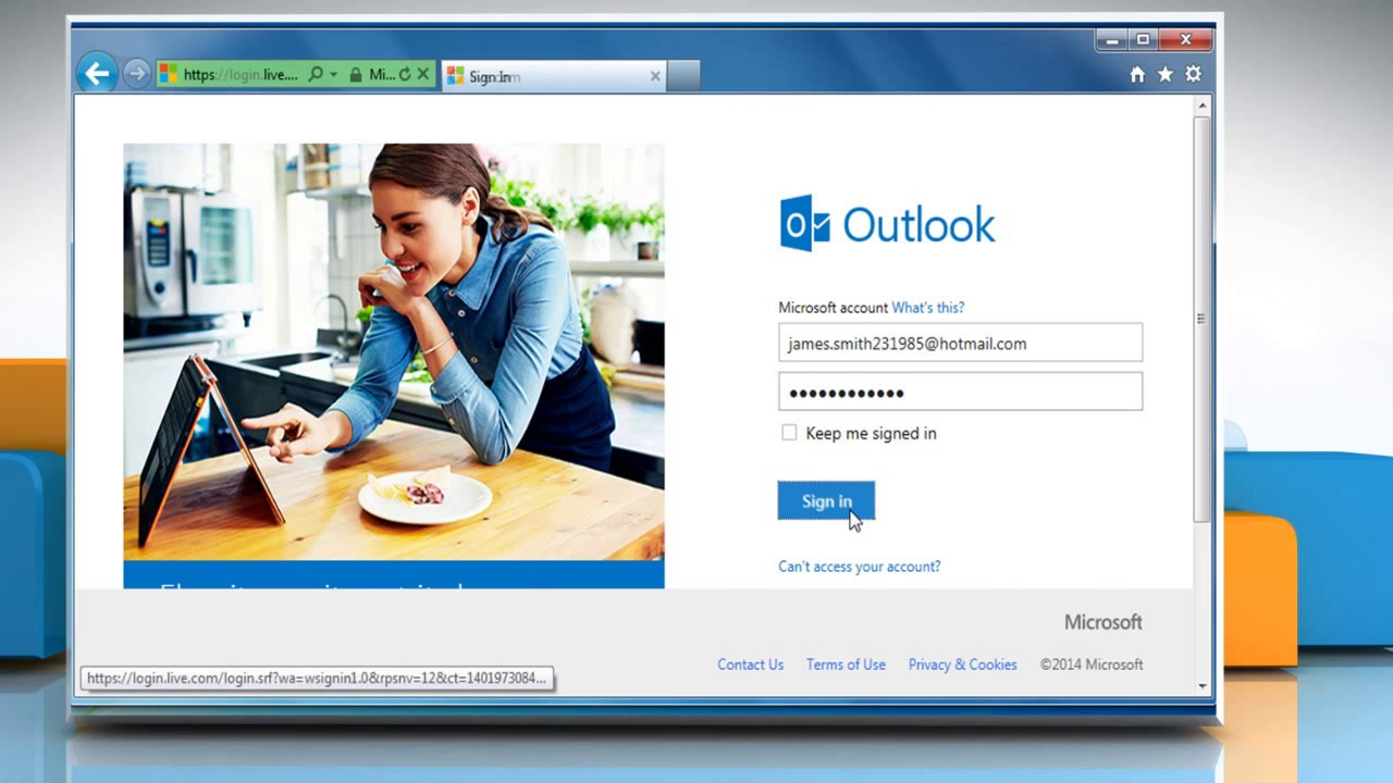 how to delete an email hotmail