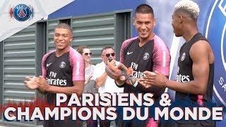 PARISIENS & CHAMPIONS DU MONDE ! with Mbappé, Kimpembe, Areola