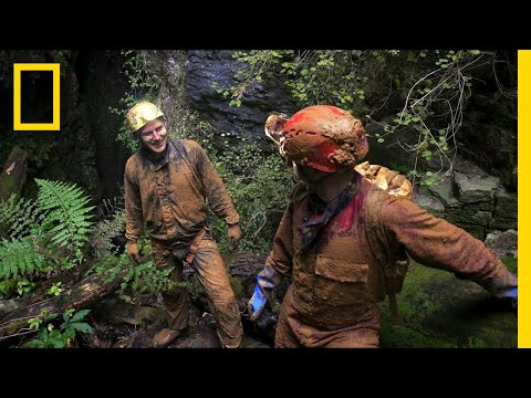 Playing in the Mud Never Gets Old for These Two Cave Explorers | Short Film Showcase
