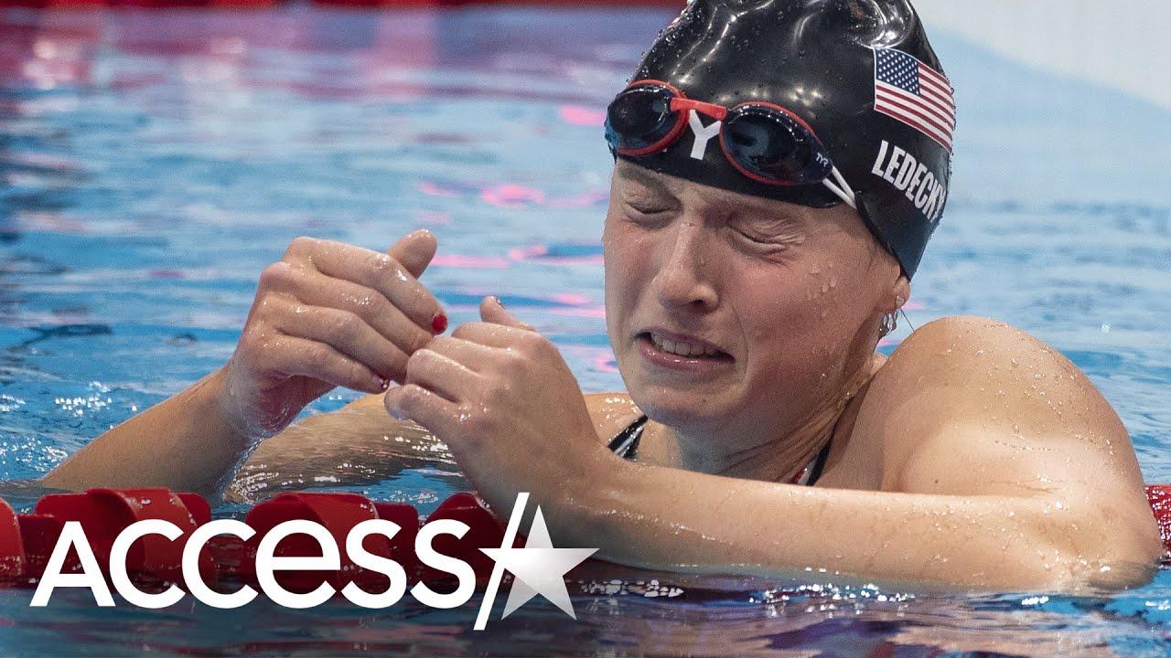 Katie Ledecky Gets Emotional Winning Gold At Tokyo Olympics