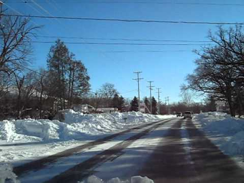 C B radio talk  Feb.Blizzard of 2011 in north illinois. part 1