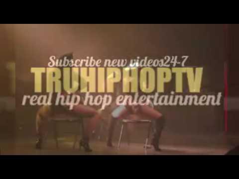 Ashanti twerking on stage thumbnail