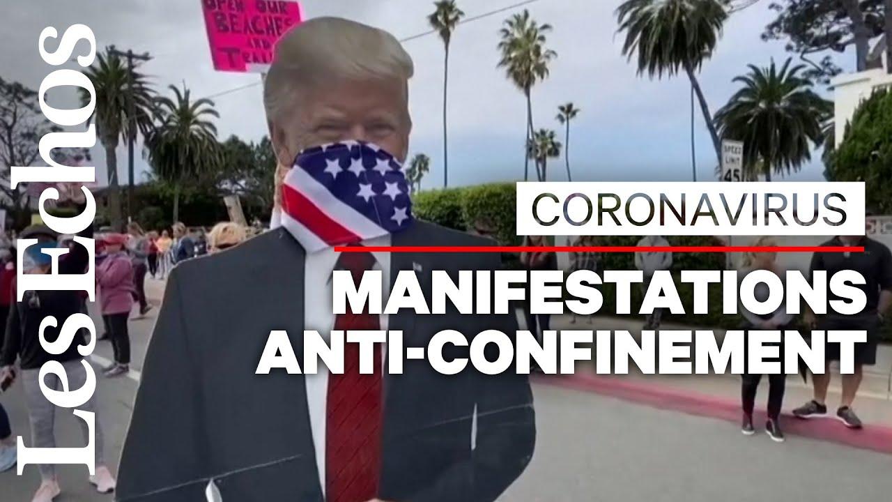 Des manifestations contre le confinement aux Etats-Unis : Trump attise les tensions