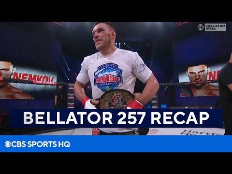 Bellator 257 Recap: Vadim Nemkov Outlasts Phil Davis to Retain Title  CBS Sports HQ