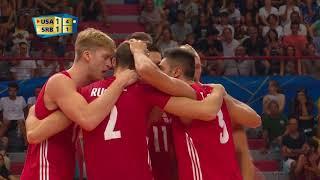 Ultimate Highlight: USA vs. Serbia - FIVB Men