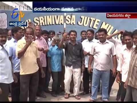 Jute Mills | Problems of Jute Cultivation and Jute Industry | Vizianagaram | A report