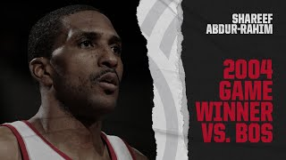 Shareef Abdur-Rahim buries the game-winner in Boston | Classic Trail Blazers Games