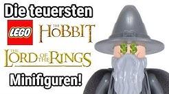 Die TOP 10 teuersten LEGO Herr der Ringe & Hobbit Minifiguren!