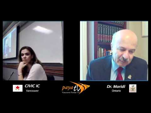 Dr. Moridi and Iranian Visa issues - Civic IC's Event in Vancouver