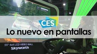 Lo nuevo en pantallas en el CES 2016 y la