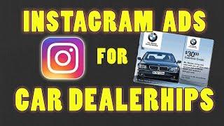 (Sosyal Medya Pazarlama Ajansı)Otomobil Galerisi İçin MÜKEMMEL İnstagram Reklamları