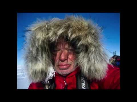 """1c   Ian Evans """"Life begins at the end of your comfort zone – A Walk to the South Pole"""""""