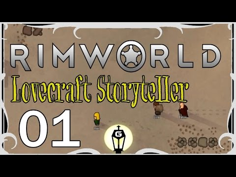 At The Mountains of Madness | Rimworld Lovecraft Storyteller Ep 1