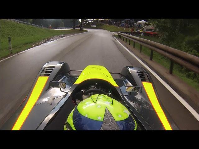 69° Trento Bondone 2019 Gloria C8 S1000rr hillclimb onboard rain race