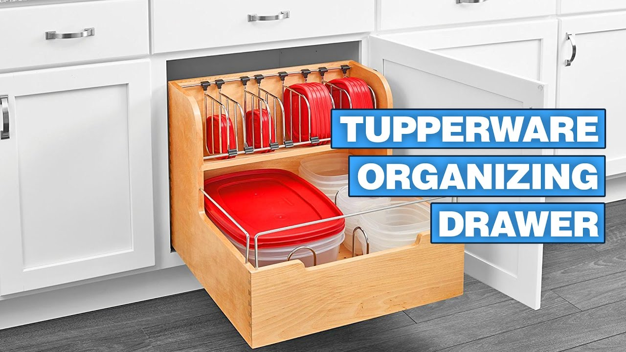 Superieur This Cabinet Drawer Will Organize Your Tupperware