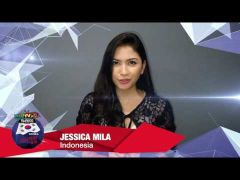 Jessica Mila - WebTVAsia Awards 2016 Shoutout